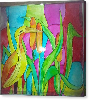 Beauty Of Nature I Canvas Print by Mahboobdeen Fathima sameera farwin