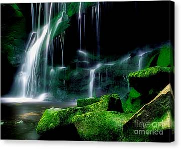 Beauty Of West Virginia Canvas Print by Darren Fisher