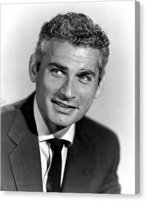 Because Of You, Jeff Chandler, 1952 Canvas Print by Everett