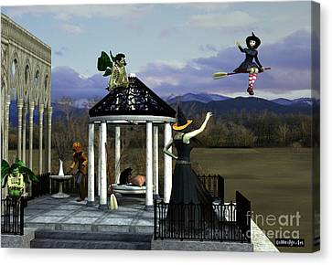 Before Dorothy Came To Oz Canvas Print by Methune Hively