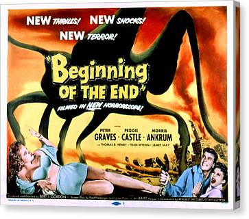 Beginning Of The End, The, Peter Canvas Print by Everett