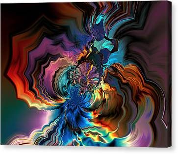 Being Transformed Canvas Print by Claude McCoy