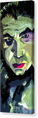 Bela Lugosi Dracula Portrait Canvas Print by Ginette Callaway