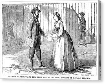 Belle Boyd (1843-1900) Canvas Print by Granger