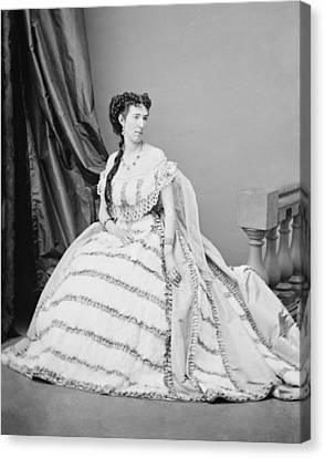 Belle Boyd 1844-1900, Was A Confederate Canvas Print by Everett