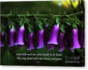 Bells Of Spring Canvas Print by Olahs Photography