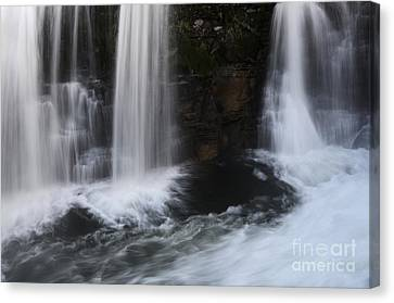 Below The Falls Canvas Print by Bob Christopher