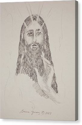 Benedictus Canvas Print by Bruce Zboray