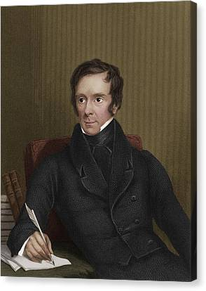 Benjamin Collins Brodie, English Chemist Canvas Print by Maria Platt-evans