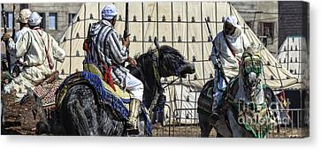 Berber Festival Canvas Print by Chuck Kuhn