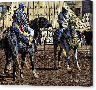 Berbers Morocco Canvas Print by Chuck Kuhn