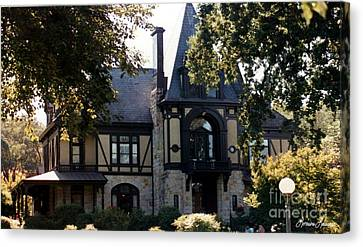 Beringer House Canvas Print by Lorraine Louwerse