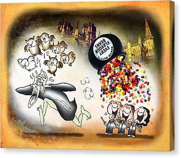 Bertie Bott's Beans Canvas Print by Mark Armstrong