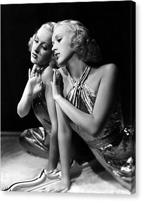 Betty Grable, 1930s Canvas Print by Everett