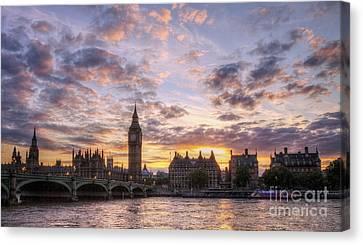 Big Ben London Canvas Print by Lee-Anne Rafferty-Evans