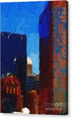 Big City Canvas Print by Wingsdomain Art and Photography