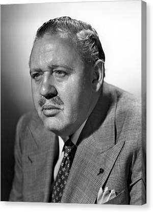 Big Clock, Charles Laughton, 1948 Canvas Print by Everett