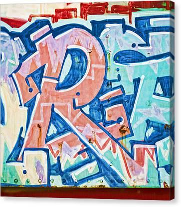 Big Orange R Canvas Print by Carol Leigh