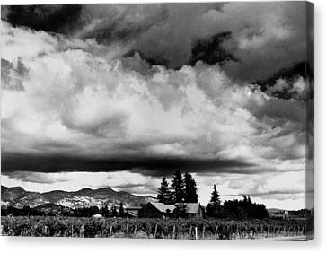 Big Sky Canvas Print by Michael Kraus