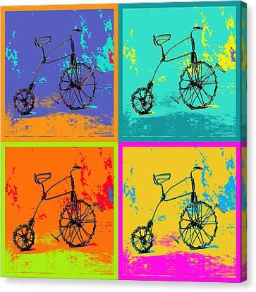 Bike 1b Canvas Print by Mauro Celotti