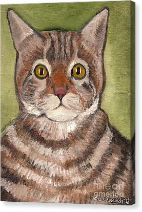 Bill The Cat  Canvas Print by Kostas Koutsoukanidis