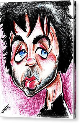 Billy Greenday Canvas Print by Big Mike Roate