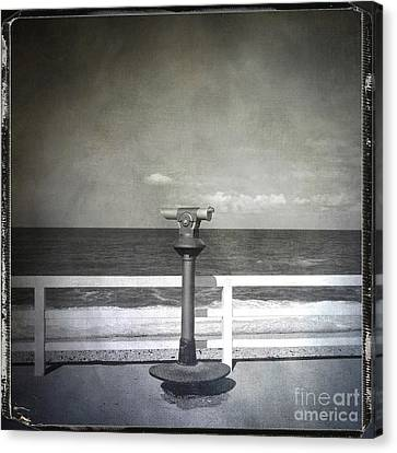 Binocular Canvas Print by Bernard Jaubert