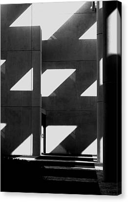 Black And White  Canvas Print by Stuart Brown