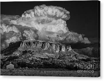 Black Mesa Canvas Print by Keith Kapple