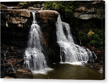 Blackwater Falls Canvas Print by Doug Hubbard