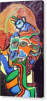 Bleeding Heart Canvas Print by Lisa Kramer
