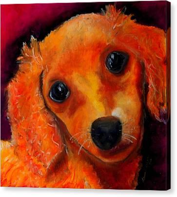 Blondie Canvas Print by Laura  Grisham
