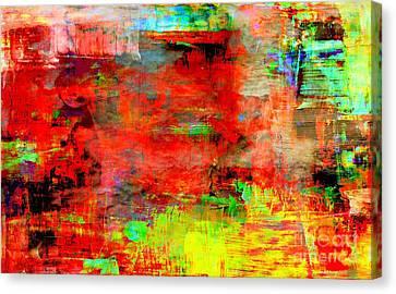 Blood Before Change Canvas Print by Fania Simon