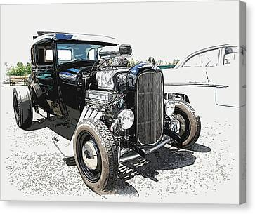 Blown Coupe Canvas Print by Steve McKinzie