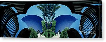 Blue Arches Canvas Print by Paul W Faust -  Impressions of Light