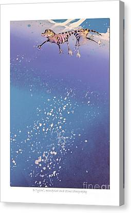 Blue Bayou Canvas Print by Diana  Tyson