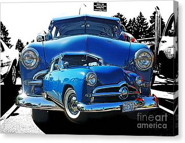 Blue Classic Dbl.hdr Canvas Print by Randy Harris