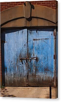 Blue Doors Canvas Print by Bob Whitt