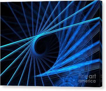 Blue Fantasy Canvas Print by Yali Shi