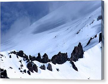 Blue Mountain Winds Canvas Print by Tap  On Photo