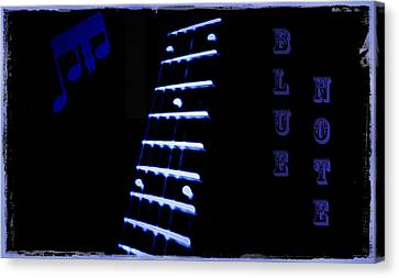 Blue Note Canvas Print by Bill Cannon