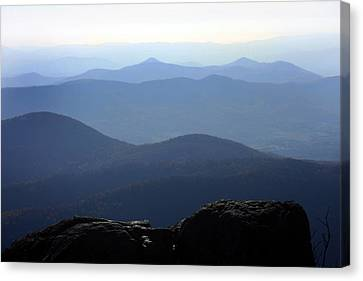 Blue Ridge Mountains Canvas Print by Emanuel Tanjala