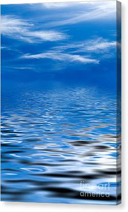 Blue Sky Canvas Print by Kati Molin