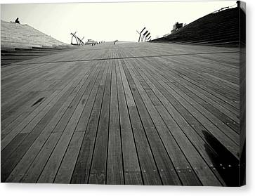Boardwalk Dreams Canvas Print by Dean Harte
