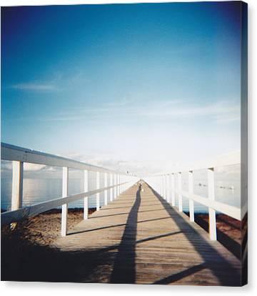 Boardwalk Canvas Print by Monica Forss