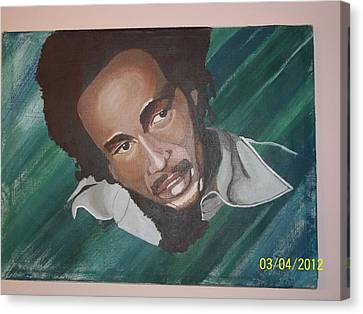 Bob Marley 2011 Canvas Print by Elaine Holloway