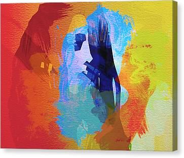 Bob Marley 4 Canvas Print by Naxart Studio