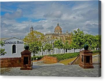 Bodegas Gonzalez Byass - Tio Pepe Canvas Print by Juergen Weiss