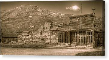 Bodie California Ghost Town Canvas Print by Scott McGuire