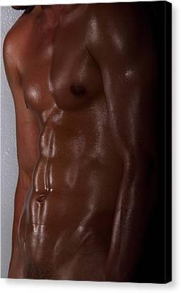 Body Art Canvas Print by Mark Ashkenazi
